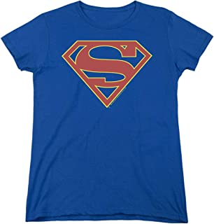 Supergirl Womens T Shirt and Stickers - TV Series