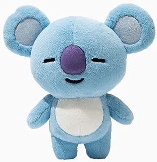 YIAI Kpop BTS Cushion Plush Doll Bangtan Boys Plush Cushion Pillow Warm Bolster Q Back Cute Cartoon Stuffed Doll Toy (Koya)