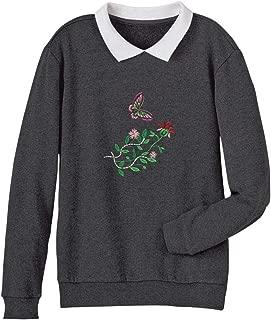 AmeriMark Fleece Embroidered Sweatshirt