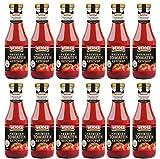 WERDER 12 x Premium Tomaten Ketchup 450 ml
