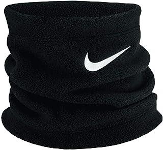 Nike 中性款 - 成人青年抓绒保暖衣,黑色/白色,均码