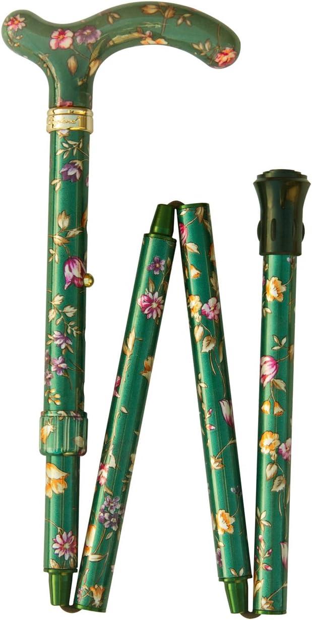 Petite Folding Derby Super intense SALE Green safety Floral -