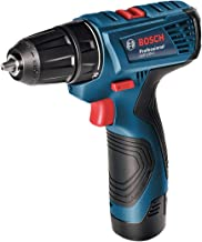 Bosch Professional Bosch Taladro/Atornillador a batería GSR 120-LI 12V 2X1.5Ah 06019F7001