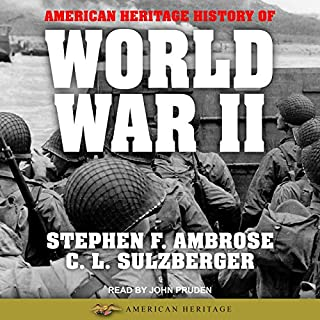 American Heritage History of World War II audiobook cover art