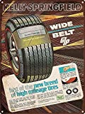 GUANGZHOU 1968 Kelly Springfield Tires Retro Metal Sign