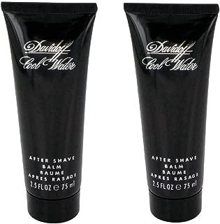 Get 2X - Dàvïdòff Çool Watèr 2.5 oz After Shave Balm Tube For Men