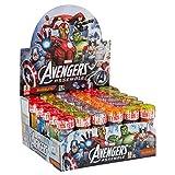DULCOP - Bolle Sapone 'Avengers Assemble' Marvel Comics - Espositore da 36 Pezzi - 559000