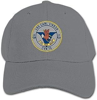 ADGoods Kids Children USS Carl Vinson CVN-70 Baseball Cap Adjustable Trucker Cap Sun Visor Hat For Boys Girls Gorra de béi...