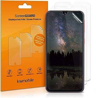 kwmobile 3x pellicola salvaschermo compatibile con Samsung Galaxy A40 - Film protettivo proteggi telefono - protezione ant...