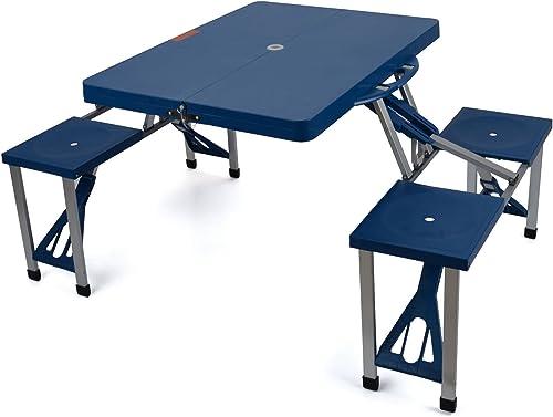 Generic Ightweight Absset TA de Salle à Manger Ensemble de chaises de Salle à Manger Table de Camping Pliante Portable Table de Pique-Nique léger ABS Couleur aléatoire Portable Pliable