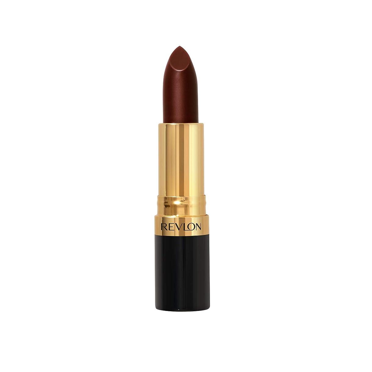 噴水なめるまだらREVLON Super Lustrous Lipstick Creme - Black Cherry 477 (並行輸入品)