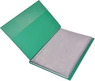 FIS Display Book 50-Pockets F/S Size, Green - FSDA50F4GR