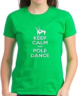 keep calm and pole dance t shirt
