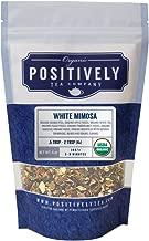 Positively Tea Company, Organic White Mimosa, White Tea, Loose Leaf, USDA Organic, 4 Ounce Bag