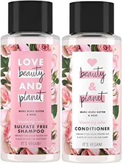 Love Beauty and Planet Blooming Color Murumuru Butter & Rose Shampoo 400 ml + Conditioner 400 ml