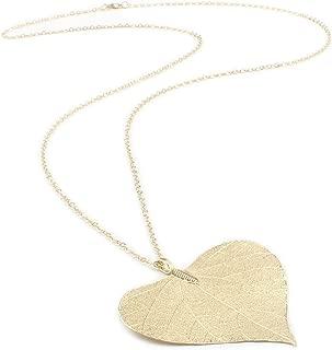 gold aspen leaf jewelry