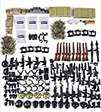 General Jim's Toy Weapons Pack for Swat Military War Toy Figures - Weapons Toy Set (267 Pieces)