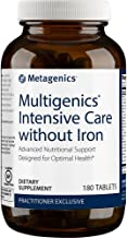 Metagenics Multigenics Intensive Care Without Iron Tablets, 180 Count