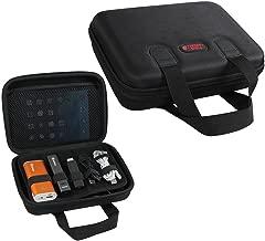 Universal Cable Organizer Electronics Accessories Hard EVA Travel Case/USB Drive Bag by Hermitshell (Medium, Black)