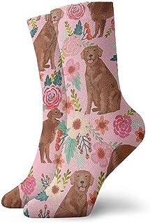 Dydan Tne, Niños Niñas Locos Divertidos Golden Retriever Calcetines para Perros Lindos Calcetines de Vestir de Novedad