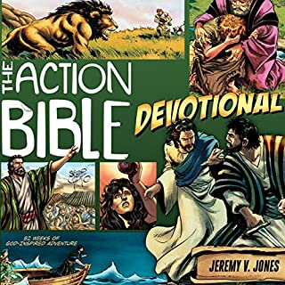 The Action Bible Devotional audiobook cover art
