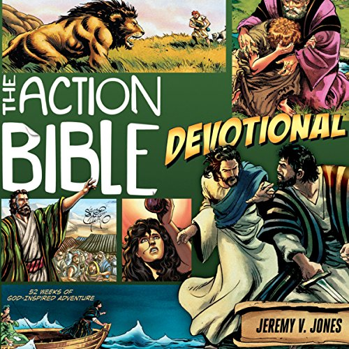 The Action Bible Devotional cover art