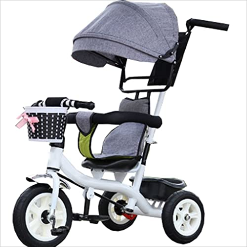 colores increíbles Strollers Strollers Strollers DD Bicicleta de bebé Bicicleta Infantil de 8 Meses en Bicicleta - 6 años, con toldo, neumático de Goma Completo Triciclo Bebe  con 60% de descuento
