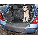Funda de maletero universal para perros con solapa para faldón trasero