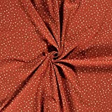 Musselin-Bedruckt-Dreiecke-100% Baumwolle-130 cm Breite-50