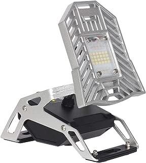 Spider Mobile Task Light - Emergency Light, Big Batteries, Bottom 4 Magnets, 1200 Lumen Rechargeable Task Light for The Garage, Campsite, Home, Auto, Basement and More