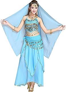 abd531637a52 Amazon.es: pantalon danza vientre - Azul