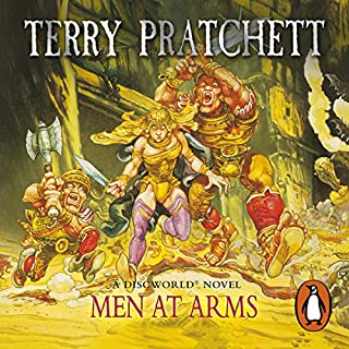 Men at Arms                   By:                                                                                                                                 Terry Pratchett                               Narrated by:                                                                                                                                 Nigel Planer                      Length: 9 hrs and 44 mins     2,287 ratings     Overall 4.8