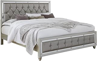 Best king size bedroom set with mirror headboard Reviews