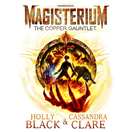 Magisterium: The Copper Gauntlet audiobook cover art