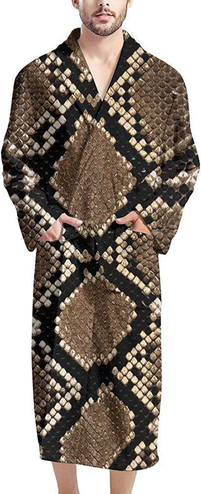 Poceacles Sexy V-neck Popular shop is the lowest price challenge Today's only Men's Bathrobe Sleeve Long Robes Sh Kimono