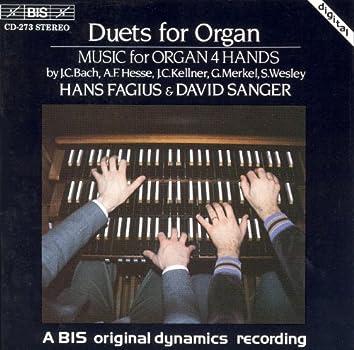 Bach, J.C. / Wesley / Hesse / Merkel: Duets for Organ