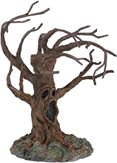 Department 56 Halloween Accessories for Village Collections Stormy Night Tree Figurine, 5.91, Brown