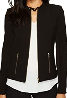 Calvin Klein Womens Lux Jacket with Zip