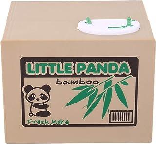 ACEHE Tirelire boîte d'économie d'argent, Chat automatisé Voler Tirelire Kitty Panda Tirelire Pot de Rangement pour Enfant...