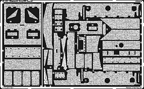 Eduard Accessories 35491 Modellbauzubehör Stug.III AUSF. G Zimmerit Fotoätzsatz
