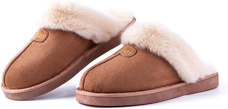 ALOTUS Women Slipper Faux Fur with Memory Foam Anti Skid Sole Indoor & Outdoor Khaki