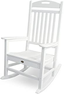 Trex Outdoor Furniture Yacht Club Rocker Chair, Classic White