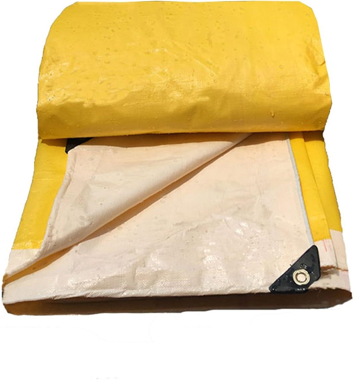 AJZGF Im Freien Plane LKW Abdeckung Poncho Zelt außen außen außen Schatten staubdicht Winddicht Hochtemperatur Anti-Aging, gelb (Farbe   Gelb, größe   4X6M) B07GXVZRFS  Menschliche Grenze eb85da