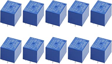 Saim JQC-3F SPST Power Relay PCB Type DC 5V Coil 5 Pins Mini Power Coil Relay 10 Pcs