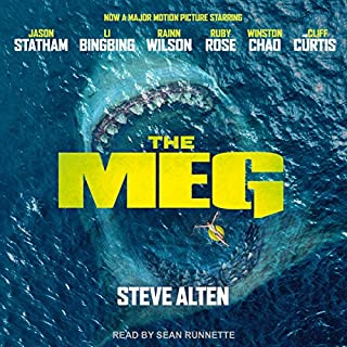 Meg: A Novel of Deep Terror with Meg: Origins                   Written by:                                                                                                                                 Steve Alten                               Narrated by:                                                                                                                                 Sean Runnette                      Length: 10 hrs and 32 mins     21 ratings     Overall 4.4