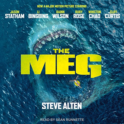 Meg: A Novel of Deep Terror with Meg: Origins audiobook cover art