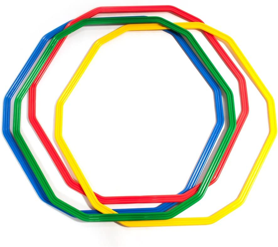 First-Play 12 Sided Selling and selling Flexi Hoop Multi-Colour sold out Game 50 cm