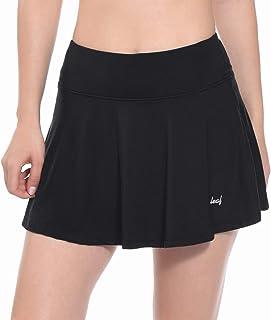 Baleaf Women's Athletic Skort Pleated Tennis Golf Skirt with Pockets