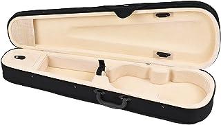 ammoon プロ 4/4フルサイズ バイオリン三角形状ケースボックス ハード&スーパーライト ショルダーストラップ付き5色選択可