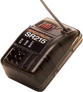 Spektrum SR215 2-Channel 2.4GHz DSMR RC Sport Receiver: Surface, Black